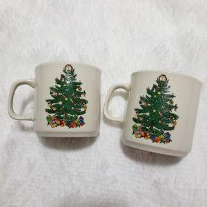 Badcock Christmas Tree Mug